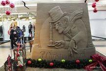 A Christmas Carol / eine Nacherzählung in Sandskulpturen der bekannten Weihnachtsgeschchte von Charles Dickens