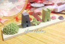 Kokulu Taş İsimlik / Kokulu taş her tür konsepte uygun isim yazılır