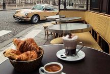 """Breakfast Time / """"All Happiness Depends On A Leisurely Breakfast"""" John Gunther"""