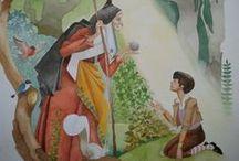 My work / İllustration, ciyavu, fairy, fairytale, watercolour,art, paint, draw, drawing