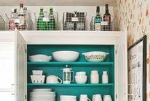 Small Spaces: Kitchens / kitschy kitchen
