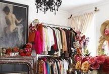 A Dressing Room / Wardrobe / Dressing room inspiration