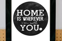 Home..sweet home / Ideas for our future home..