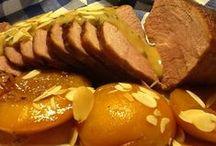 Vlees/vis uit mijn keukentje / Bij groente hoort een lekker stukje vlees! Genoeg ideeën... http://uitmijnkeukentje.blogspot.nl/