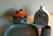 Uppsala Ekeby -UE - Sverige / Svensk Keramikk - Sweedish Pottery