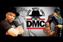 """Darryl 'DMC' McDaniels / Darryl McDaniels or """"DMC"""" as most of the world knows him, first made his start in the music business as one third of the groundbreaking rap group Run-DMC.  http://www.me-dmc.com"""