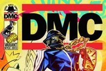 """DMC Makes Comics / Darryl """"DMC"""" McDaniels, a founding member of iconic rap group, RUN DMC is embarking on his next project that is aiming to change the face of pop culture forever! Combining two of his first loves, hip hop culture and comic books DMC is ready to throw his hat into the ring as an independent publisher with an original comic set to be released Fall 2013."""