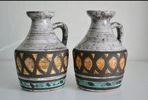 Strehla VEB Keramik - GDR - Germany / Fat Lava - Germany - Pottery