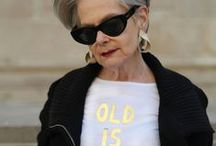 Women of a Certain Age / Inspiring style for the mature woman