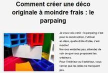 deco parpaings / Retrouver l'article sur mon blog  http://bit.ly/1lCzOH6