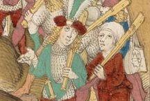 puskások, pixiáriusok XV. sz. / puskások, muskétások, kéziágyusok és eszközeik a XV. században