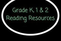 Grade K, 1 & 2 Reading Resources / Reading resources and ideas.