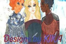 Designs by KIKA: 2015 Knit Wear Collection / Knit Wear Collection.
