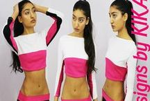 Designs by KIKA: 2015 Active Wear Collection / Spring back into action with new workout gear. #fashion #fashiondesign #apparel #gymclothes #activewear #active #gymgoals #model #pink #designsbykika #fashionmodel #model