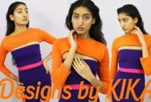 Designs by KIKA: 2015 KnitWear / Who said knits had to be dull & boring? Spice up your winter layers with this knit ensemble #fashion #fashiondesign #apparel #knitwear #knits #active #color #model #pink #designsbykika #fashionmodel #model #outfit #knitdress