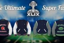 Superbowl XLIX / We're getting pumped (no pun intended) for this year's Super Bowl!