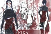 Designs by KIKA: CFDA Collection / Be Prepared for my CFDA Collection. Something very personal and different from the usual Designs by KIKA. Please go to Designsbykika.com and read my thesis and view the collection.