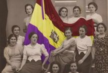 Spanish civil war. República española