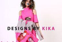 KIKA Senior Thesis Collection / KIKA Senior Collection featuring various fabrications including embroidery on vinyl, neoprene, jersey knit & mesh. Photographer: KIKA Model: Crystal Garcia Follow KIKA @DESIGNSBYKIKA