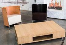 Maarten van Severen installation by OMA in Milan / Samen met architectenbureau OMA bracht Lensvelt in 2014 een expositie naar Salone del Mobile te Milaan, in de wijk Ventura Lambrate. De expositie was volledig gewijd aan de eigen collectie van de Vlaamse meubelontwerper Maarten Van Severen.