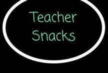 Teacher snacks / Yummy snacks to take to school!