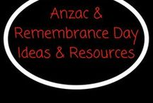 Anzac & Rembrance Day Ideas & Resources