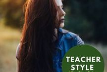 Teacher Style / Ideas for comfy, affordable and hopefully fashionable teacher style!