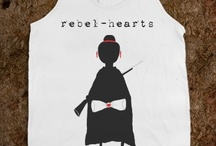 rebel hearts t-shirts / Tees from my shop