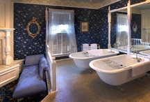 Bathrooms / by Gingerbread Mansion Inn