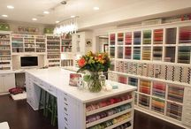 Craft & Home Office / Can't wait to design my very own scrapbook room. It's going to be everything, I've always dreamed of & more! / by Kemmy (The Scrapper) McCoy