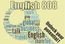 Learn English with Infographics / Infographics for English study.