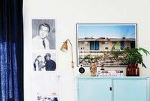 Big photo prints in interior