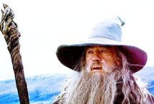 """Gandalf / """"All we have to decide is what to do with the time that is given us."""" - Gandalf"""