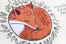 My favorite Foxy. Art / The fox is one of my most favorite animals.