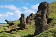 Rapa Nui | Easter Island | Isla de Pasqua / A Māori paradise governed by Chile...the locals loved me cos I was a cuzzy from Aotearoa!