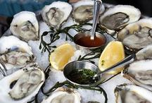 Oysters | Tio | Ostras / Oysters & champagne or Bloody Mary oyster shots, it's deserved decadence