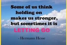 Letting go Moving On / Inspirational quotes about moving on and letting go.