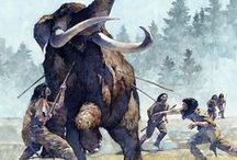 Prehistoric Life / Prehistoric life illustrations.
