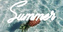 Summer awaits / Summer, beaches, food. Everything you need to inspire you to make the most out of your summer holidays, living it up with plenty of food and beach trips.