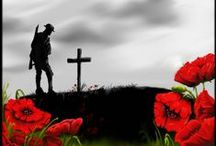 ANZAC / Australia New Zealand Army Corps - We will remember them.