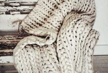 Interiors / Hand Knitting inspiration for the home