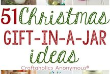 Christmas - Gift Ideas / Christmas gift ideas, everything from stocking stuffers to homemade gift ideas and gifts in a jar.