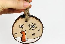 Christmas - Ornaments / A selection of both DIY and purchasable Christmas ornaments
