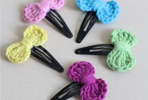 Crochet: Hair Accessories / A selection of crochet hair accessory patterns both free and paid for