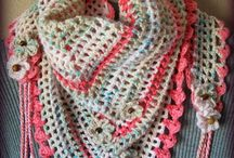 Crochet: Scarves, Shawls and Cowls / A selection of crochet scarf, cowl and shawl patterns both free and paid for