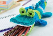 Crochet: Cases (Glasses, Pencil etc) / A selection of crochet cases pencil, glasses etc patterns both free and paid for