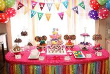Kid party ideas / by Lisa Myers