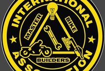 International Master Bike Builders Association / www.imbba.com #International_Master_Bike_Builders_Association / by ProRidersMarketing Joe D.