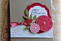 Cardmaking: Thank You / Miss You / Sympathy / by Lisa Myers
