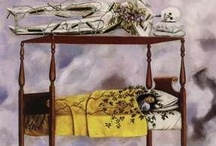 Room of Pain/Patients / Deathbed seem to be very common subject used in art. Pictures of patients recovering or in the deathbed.